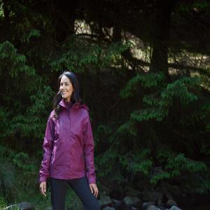 1 3 Damen NähteAbnehmbare Mountain Warehouse WasserfestVerstellbarAtmungsaktivVersiegelte Melange Jacke Kapuze Bracken In w8n0OPk