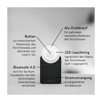 nuki combo elektronisches t rschloss smart lock und. Black Bedroom Furniture Sets. Home Design Ideas