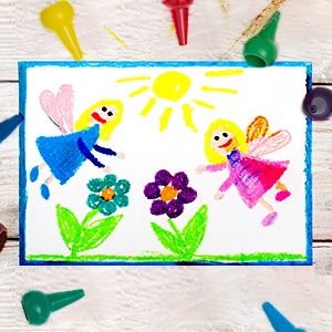baby crayons