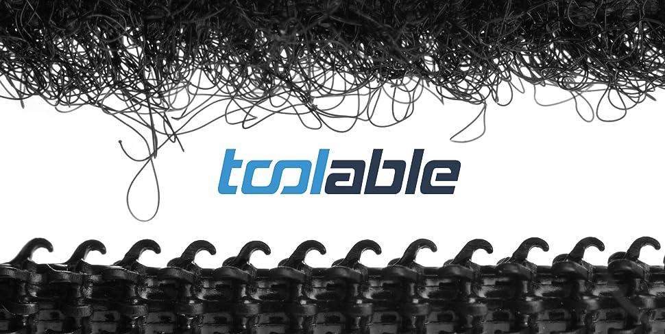 toolable klettband selbstklebend 5m lang 2cm breit f r fliegengitter schwarz. Black Bedroom Furniture Sets. Home Design Ideas