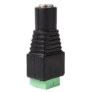 3x PC-010C Buchse zur DC-Stromversorgung männlich 5,5//2,1mm 5,5mm 2,1mm NINIGI