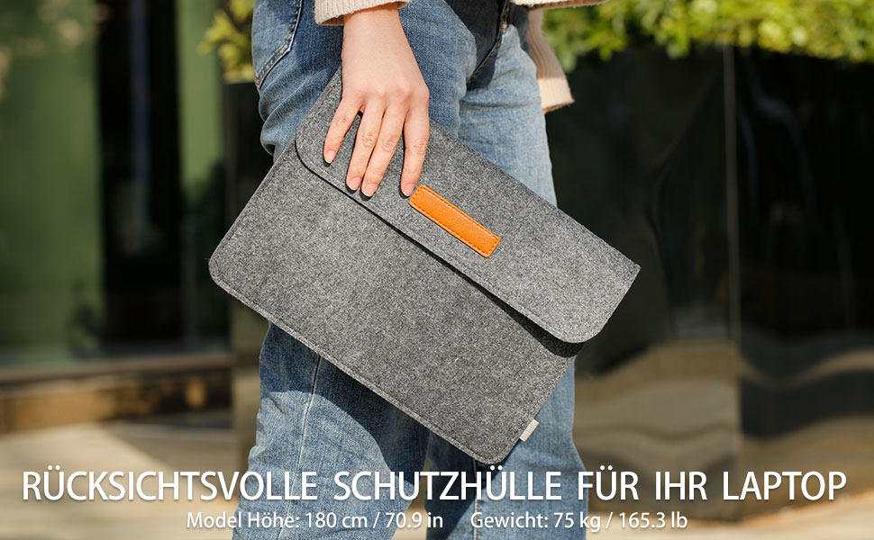 Tasche Kompatibel mit Microsoft Surface Pro