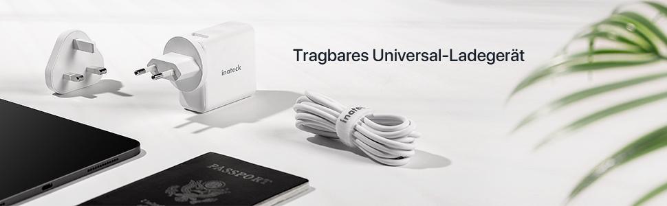 Tragbares Universal-Ladegerät