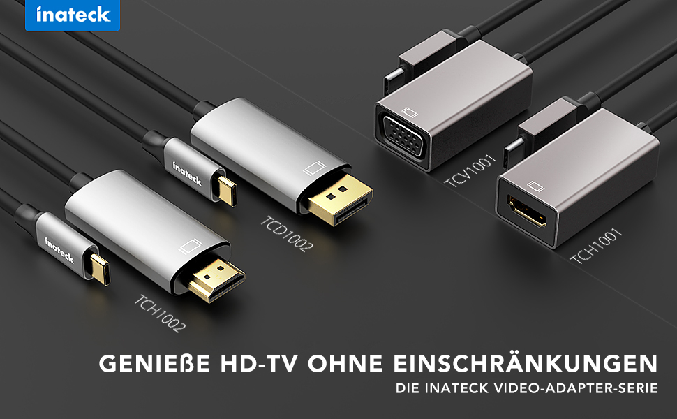 Inateck Video-Adapter-Serie