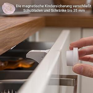 Avantina Magnetische Kindersicherung Versandkostenfrei