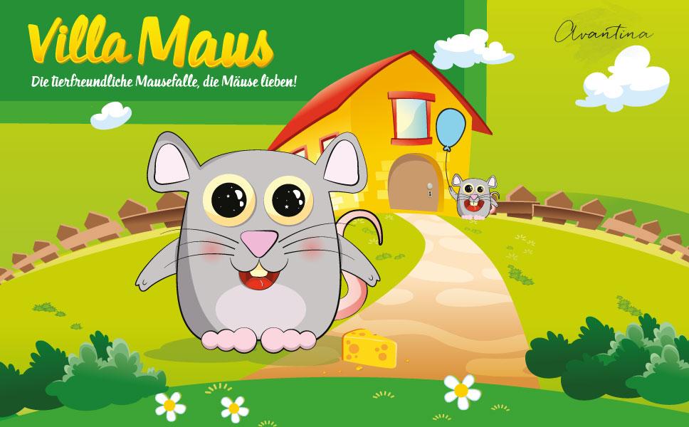 Avantina Mausefalle Lebend Villa Maus Die Tierfreundliche
