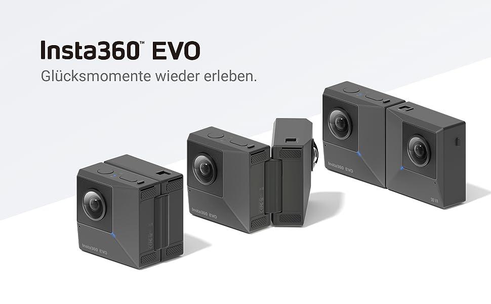 Insta360 Evo Dual Angle Lens 180 Or 360 In 5 7k 18mp Camera Photo