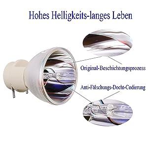 Pjd6243 Benq W1000 Birne Osram Ersatz Lampen Für Vip 1800 Pjd5533w Blanke P Projektor 8 E20 Angrox Pjd5232 W1050 8Viewsonic Pjd5234 SGqUMzVp