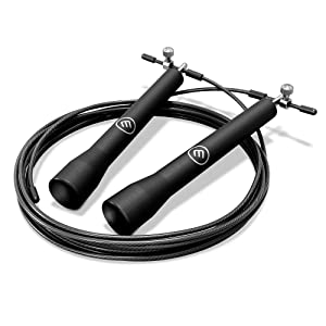Sport-Tec Speed Rope mit Anti-Rutsch-Griffen inkl 2 Gewichte