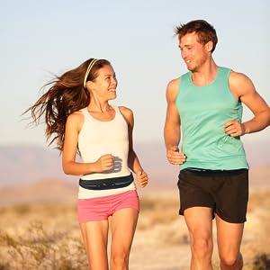 bemaxx fitness outdoor running belt laufgürtel