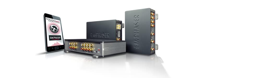 Emphaser Ea D500 Digit Line 5 Kanal Dsp Verstärker Mit Elektronik