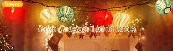 Solar Outdoor Lichterkette
