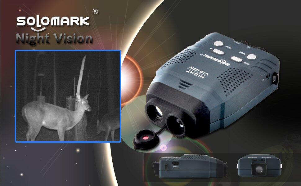 Solomark digitales nachtsichtgerät monokular amazon kamera