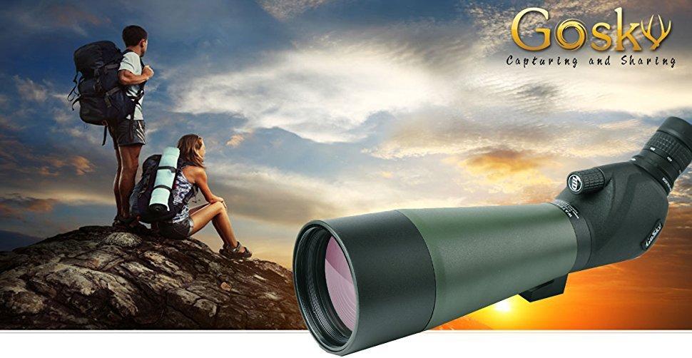 Gosky spektiv vogelbeobachtung 20 60 x 80 porro prism: amazon.de: kamera