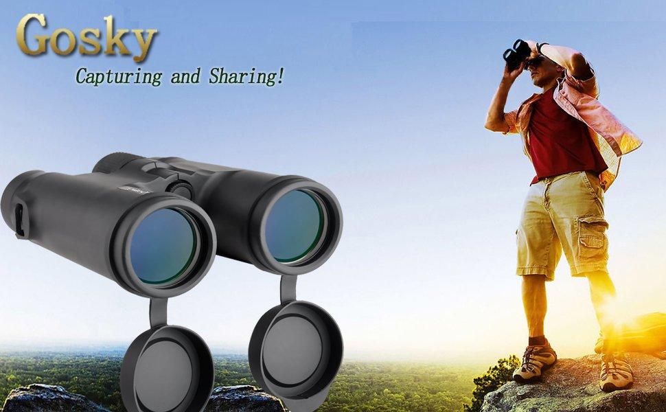 Gosky fernglas prism system wasserdicht amazon kamera