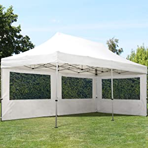 toolport faltpavillon faltzelt 3x6m 2 seitenteile alu pavillon partyzelt wei dach. Black Bedroom Furniture Sets. Home Design Ideas