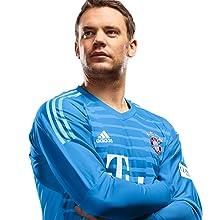 Das offizielle Kinder-Torwart-Trikot von Manuel Neuer ist erhältlich mit Original-Beflockung
