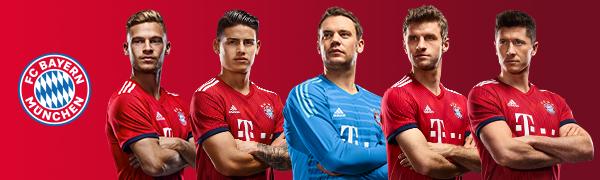 FC Bayern steht für Fußball, Leidenschaft und Erfolg – mia san mia. Original-Produkte vom FCB.