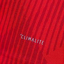 Die adidas climalite Technologie sorgt für verbesserte Regulierung der Temperatur und Feuchtigkeit.