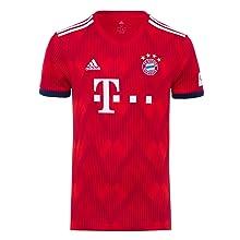 Das Heim-Trikot 2018/19 für Erwachsene ist ein Muss für jeden Fan des FC Bayern – ob Mann oder Frau
