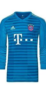 FC Bayern München Torwart Trikot Manuel Neuer Saison 2018/19 für Kinder und Jugendliche