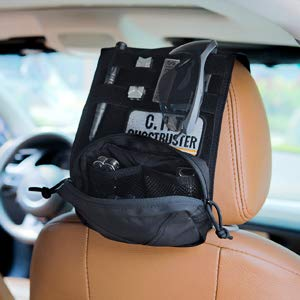 Onetigris Taktische Molle Auto Kopfstütze Abdeckung Aus 500d Nylon Schwarz Mehrweg Verpackung Auto