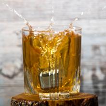 Cubitos de hielo para whisky de acero inoxidable - Vino - Cócteles - Batidos - Bol para hielo - Bebidas - Vodka - Ron - 8 cubitos reutilizables para ...