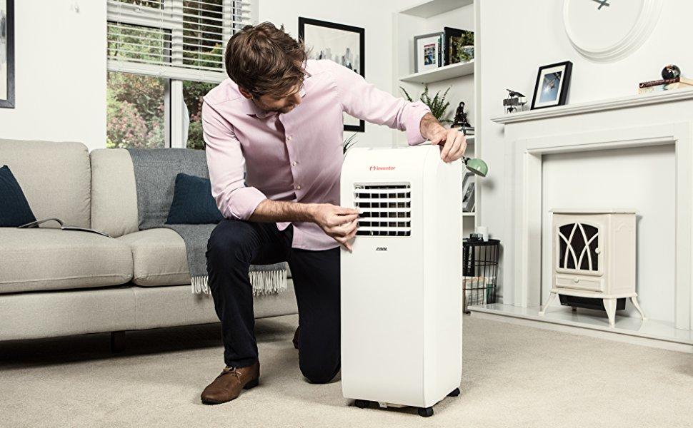 mobile klimaanlage inventor cool btu. Black Bedroom Furniture Sets. Home Design Ideas