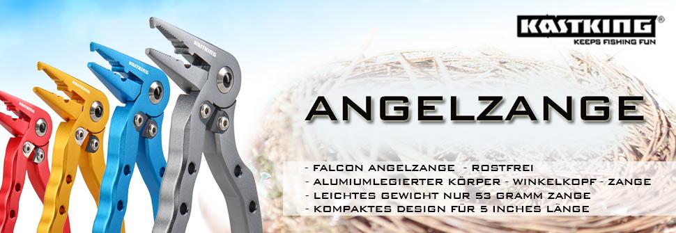 """KastKing 7 """"Angelzange Hakenlöser Split Ring Nase geflochtener Schnurschneider"""