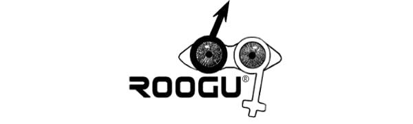 roogu logo augen brillen
