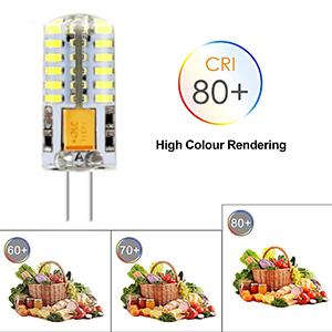 Kaltwei/ß 6000K 3W 24 * 4014 SMD Energiesparlampen 10 Pack Jpodream/® G4 LED Lampe Kein Flimmern 300LM 12V AC//DC Ersatz f/ür 30W Halogenlampen