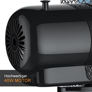Brandson - Tischventilator 30cm | Tisch Ventilator mit 3