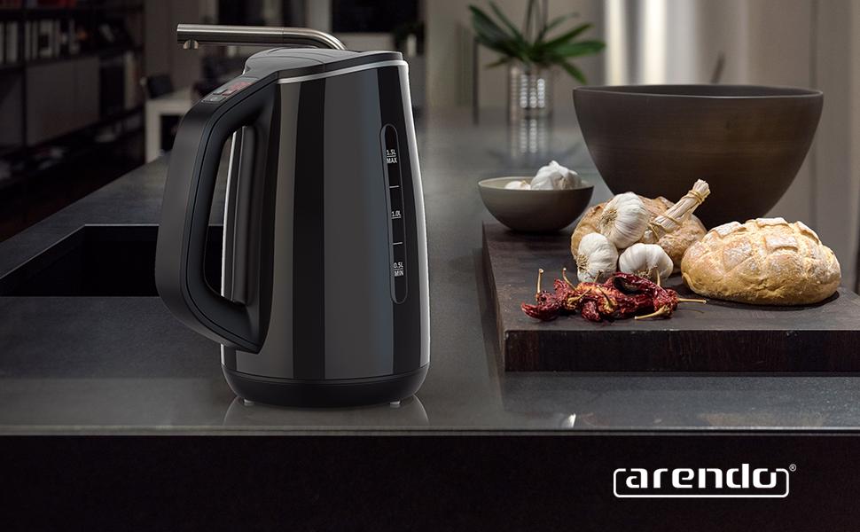 Gallant Wasserkocher Arendo Lifestyle Küche Design