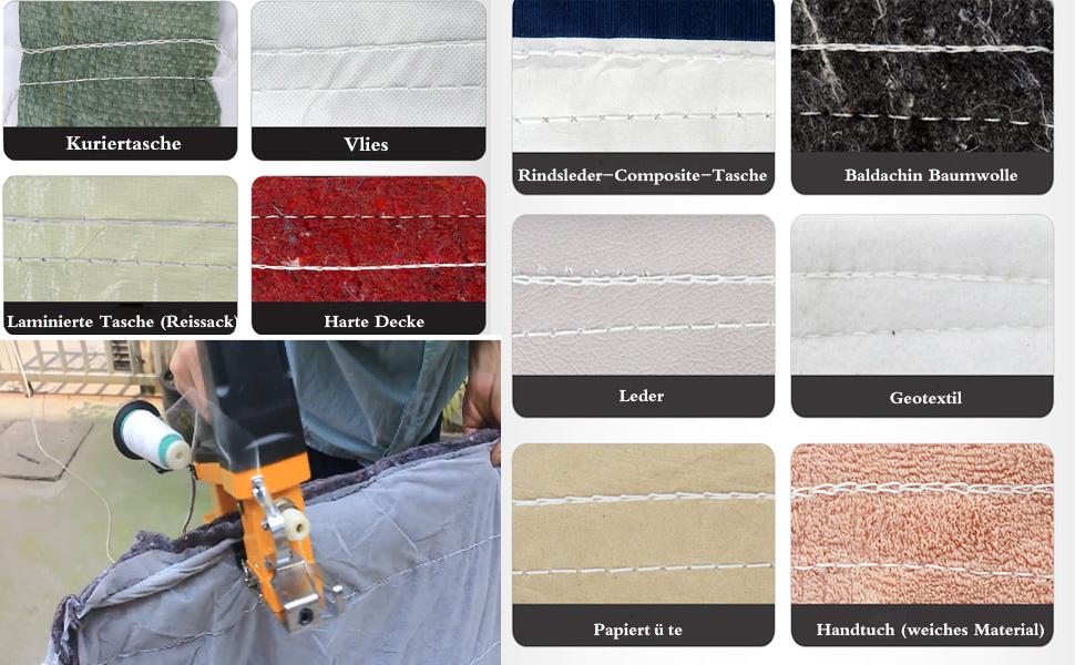 PP Woven Taschen Sack näher Tragbare Nähmaschine Reis Tasche ...