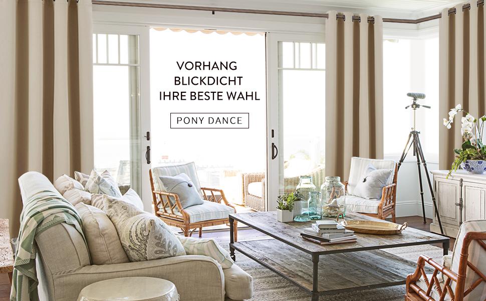 verdunkelungsvorh nge mit sen vorhang pony dance blickdichte vorh nge 175 cm x 140 cm. Black Bedroom Furniture Sets. Home Design Ideas