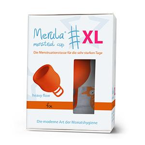 Merula Cup XL fox (naranja) - La copa menstrual para los días más fuertes