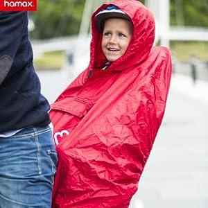 Fahrradkindersitz Regenschutz