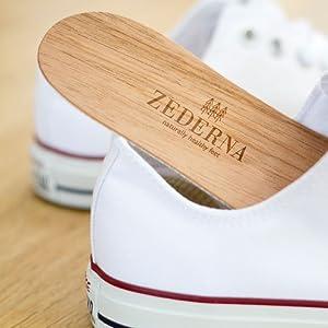 Sohle in Sneakers Zederna passt in alle Schuhe