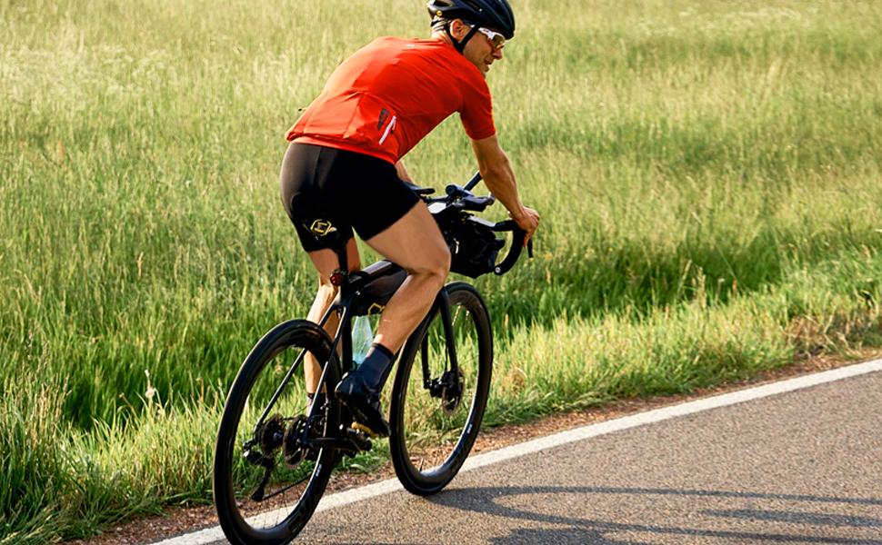 SKL Gel Radlerhose Herren Damen Unisex Fahrrad Unterw/äsche Fahrradhose gepolstert Radunterhose Luftdurchl/ässig f/ür Fahrradtour Radfahren Reiten XXL 3D Radsportshorts