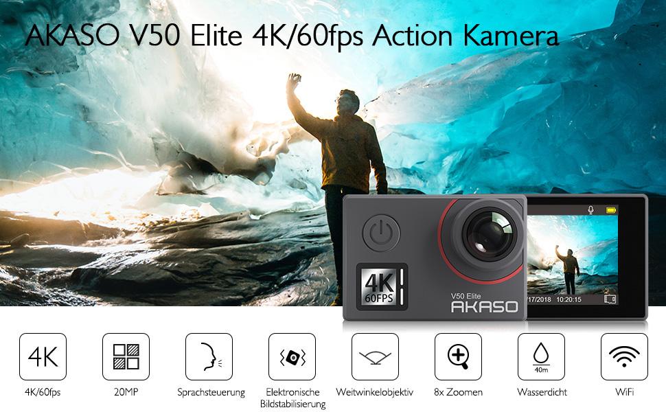 v50 elite action camera
