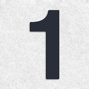 Huisnummer Helvetica 1