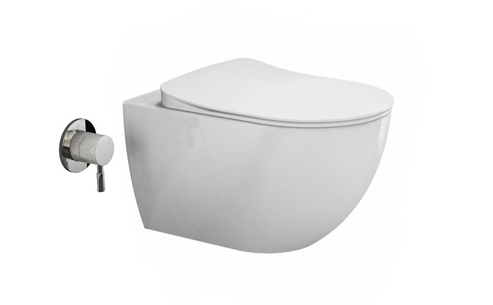 Taharet Taharat Dusch WC Aqua Bagno