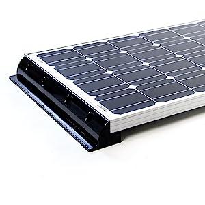 WATTSTUNDE/® Solar Haltespoiler Verbinder Set Solarmodul Befestigung f/ür Wohnmobile