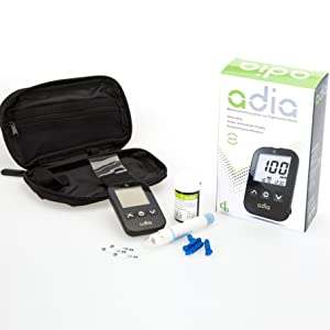 Blutzuckermessgerät Blutzuckermessgerät Set günstige Blutzuckerteststreifen Blutzucker messen