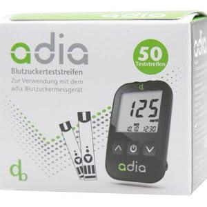 adia Blutzuckerteststreifen Blutzucker messen günstige Teststreifen Diabetes