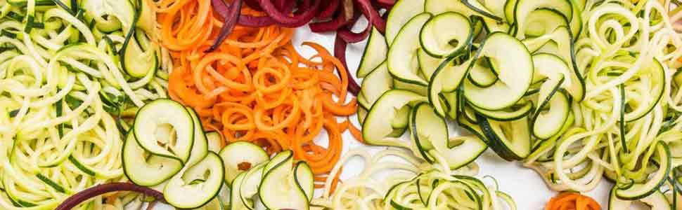 Amazon.de: Spiralschneider Hand für Gemüsespaghetti
