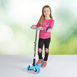 Kinder Schutzausrüstung Scooter Roller