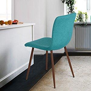 Stuhl Esszimmer esszimmerstuehleding coavas stoff kissen küchentisch stühle mit