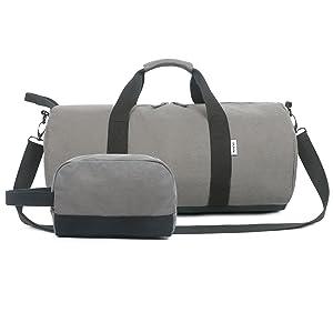ANPTER Reisetasche Sporttasche Herren Damen Fitnesstasche Handgep/äck Leichter Weekender /Übernachtung Tasche Travel Bag /& Duffel Bag f/ür Reisen Gym Duffel