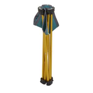 blau-grau uquip Trinity Mini Hocker max.150kg Klapphocker
